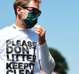 """""""Using bins makes life a lot easier"""" - Sebastian Vettel inspires his fans to follow in his footsteps at USGP"""
