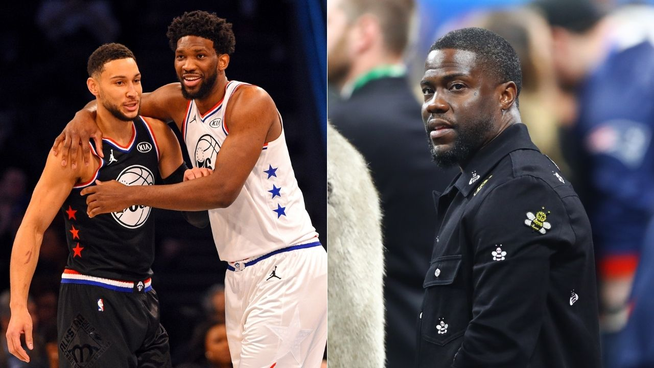 """""""Ben Simmons is a f***ing star"""": Actor and 76ers fan Kevin Hart publicly defends disgruntled Sixers point guard on All The Smoke podcast"""
