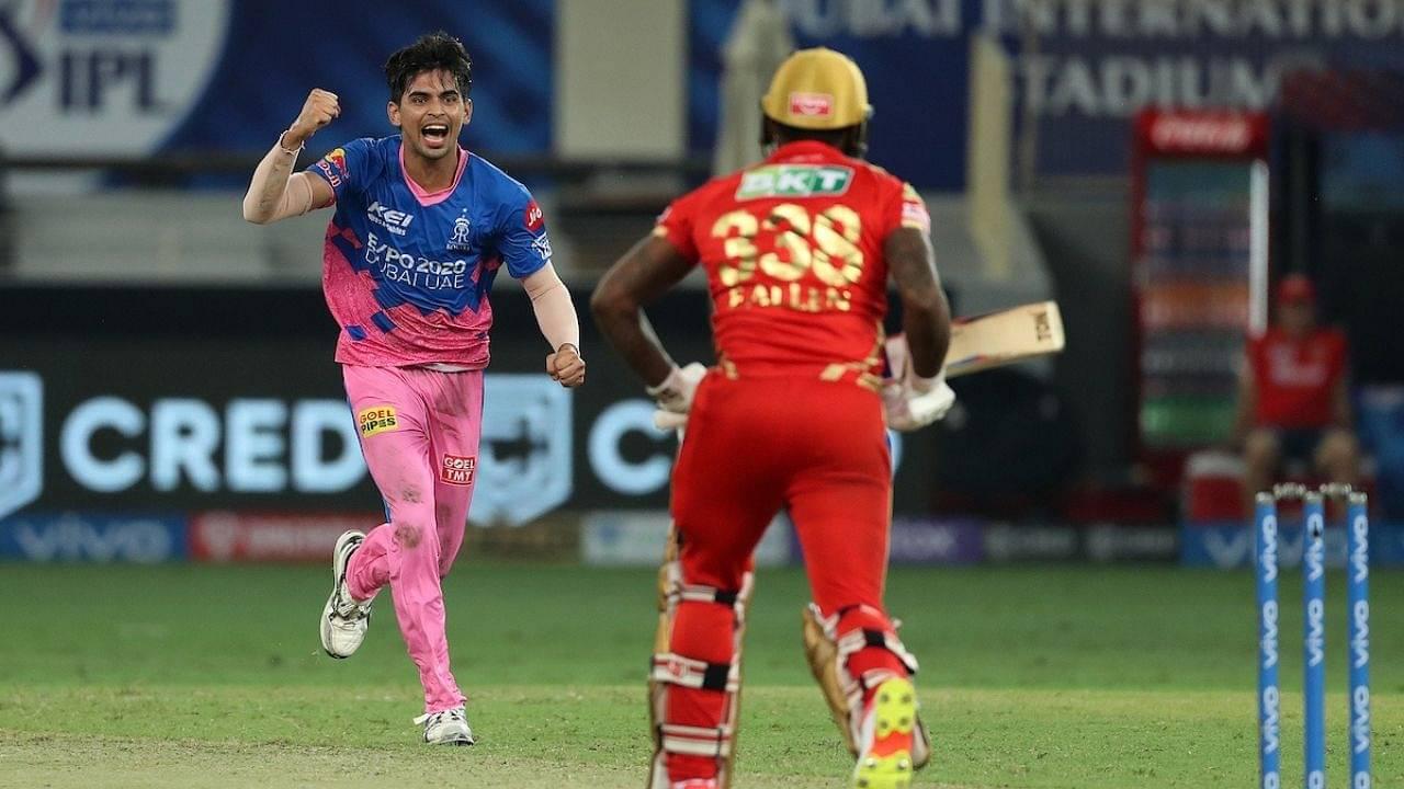 A Singh Rajasthan Royals: Why is Kartik Tyagi not playing today's IPL 2021 match vs CSK?