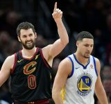 """""""I beaned Kevin Love right in the back... Knew he was gonna be a Cav"""": Warriors' Klay Thompson takes a trip down memory lane, reminisces about the time he beaned the Cavs' forward in Youth Baseball"""