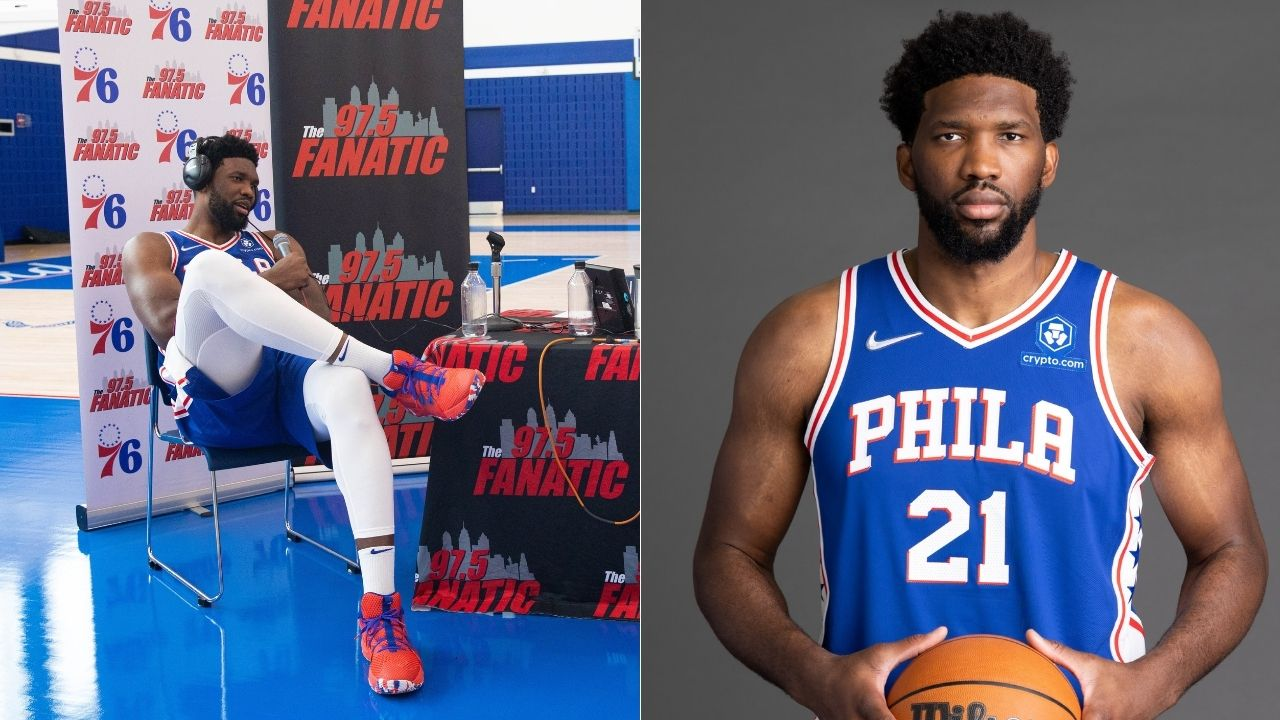 """""""Getting on the scale isn't good for my mental health!"""": Joel Embiid says what's on every overweight NBA fan's mind during 76ers media day proceedings"""