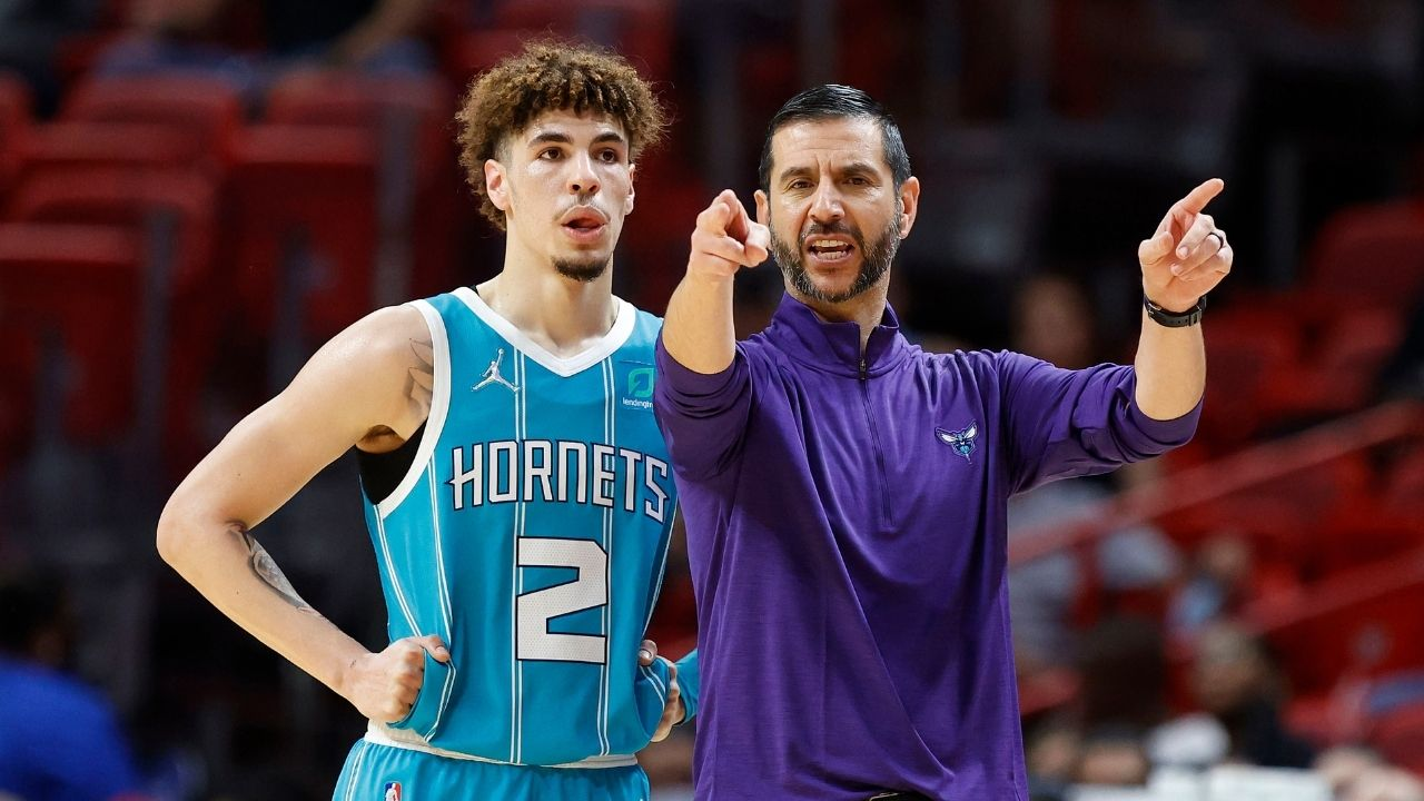 """""""That is a nasty pass, LaMelo Ball!"""": Hornets star shows off an incredible shovel pass to bamboozle the Heat's elite defense"""