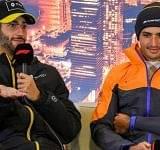 """I'm happy to be dirty"": Daniel Ricciardo's cheeky reply to 'dirty' driving accusation by Carlos Sainz"