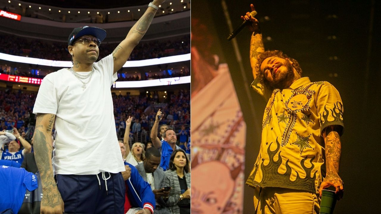 """""""Post Malone did an incredible job with the song"""": When Allen Iverson revealed how he was honoured to be mentioned in the rapper's """"White Iverson"""" song"""