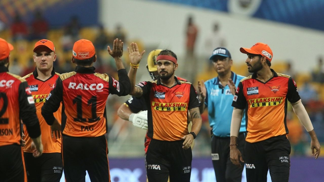 RCB vs SRH Man of the Match today IPL: Who was awarded Man of the Match in Royal Challengers vs Sunrisers IPL 2021 match?