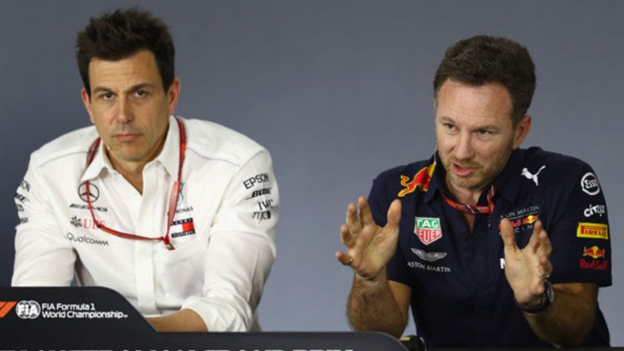 """""""He thinks about these things is a bit worrying""""– Toto Wolff responds to Christian Horner over """"frustrating the Mercedes boss"""" comments"""