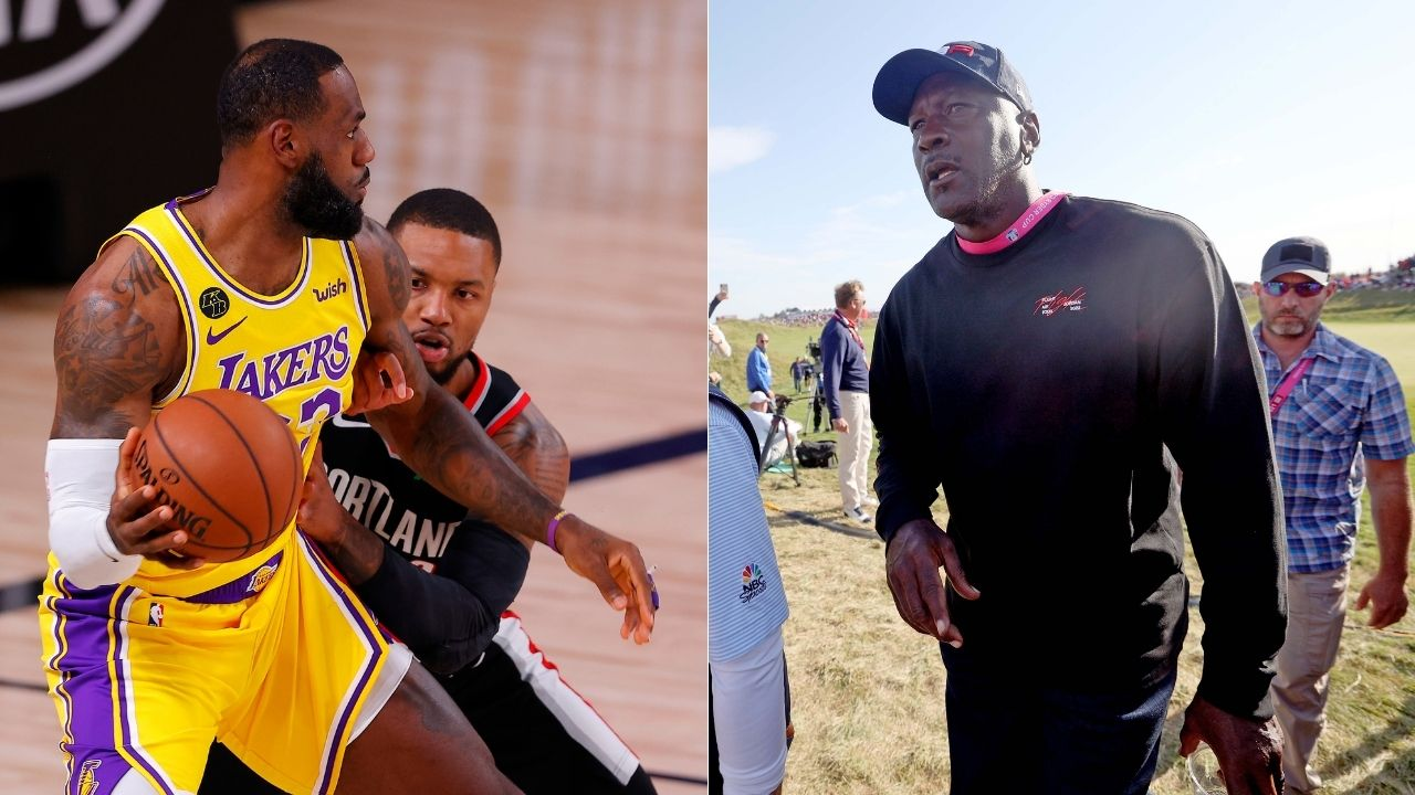 """""""Michael Jordan is the greatest basketball player ever"""": Damian Lillard officially picks the Bulls legend as his GOAT choice over LeBron James"""