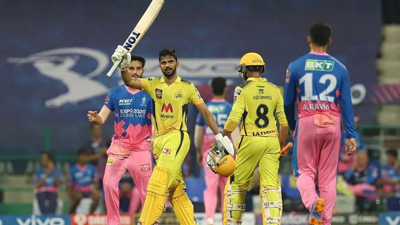 RR vs CSK Man of the Match today: Who was awarded Man of the Match in Royals vs Super Kings IPL 2021 match?