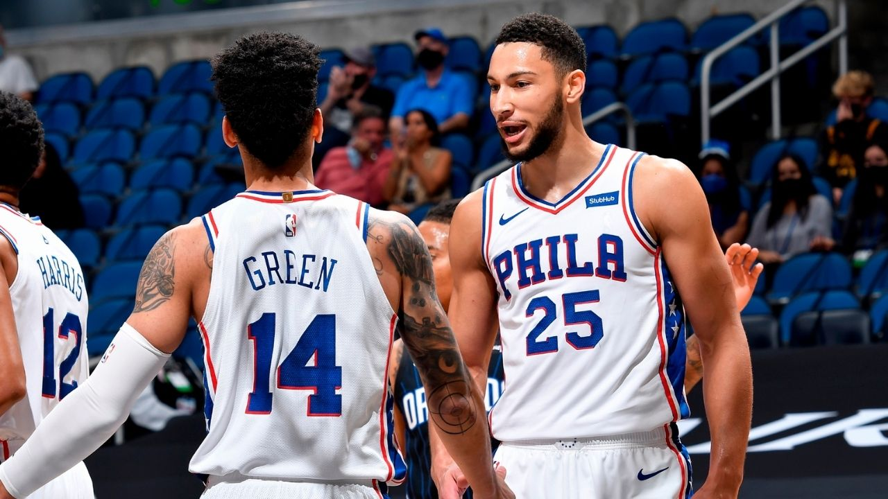 """""""We're not asking him to shoot jump shots... Just come in and be a pro and do your job!"""": Sixers' Danny Green comments on Ben Simmons' return to Philadelphia 76ers practice facility"""