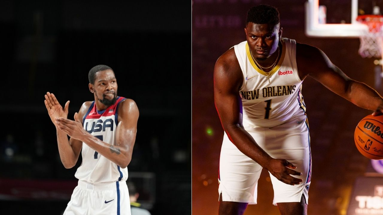 """""""Zion Williamson is like a bull in a China shop, freakish athlete"""": When Kevin Durant spoke highly of the future NOLA superstar during his high school senior year"""