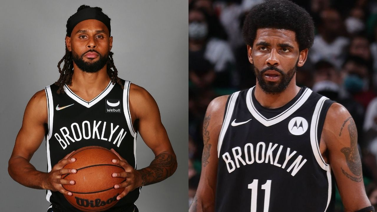 """""""How does Patty Mills fit into the Nets' system with Kyrie Irving's absence?"""": The Australian guard talks about how his role has changed with Uncle Drew's vaccination status"""