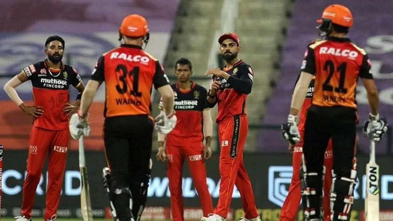RCB vs SRH Head to Head in IPL history | Royal Challengers Bangalore vs  Sunrisers Hyderabad stats | IPL 2021 Match 52 | The SportsRush