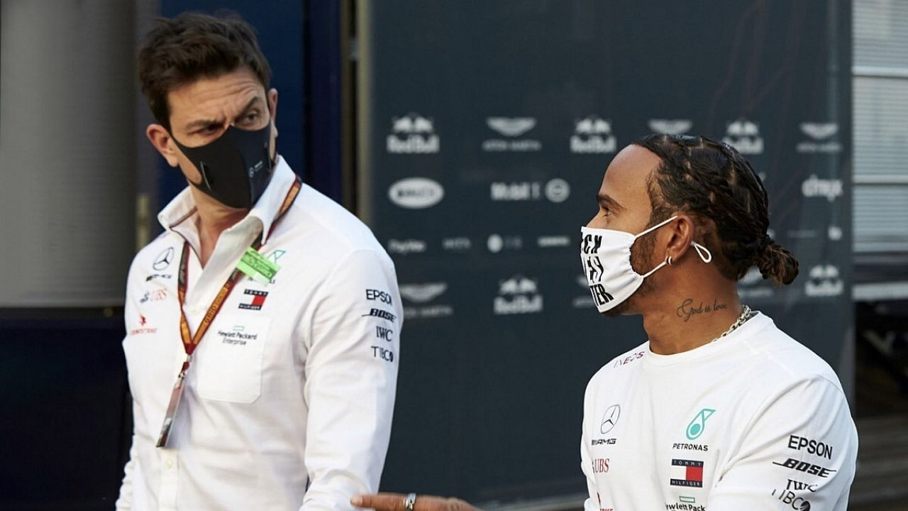 """""""We have seen over the course of the season that we have some little gremlins"""": Toto Wolf believes further engine woes may hinder Lewis Hamilton's 8th title bid"""