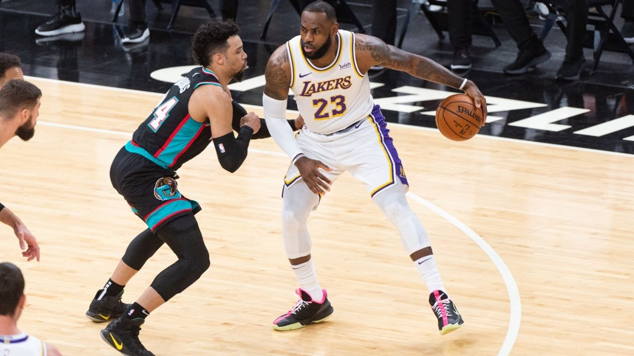 """""""You don't disrespect LeBron James like that, Dillon Brooks """": When the Lakers star had to fire back after the Grizzlies guard flexed on the King tauntingly"""