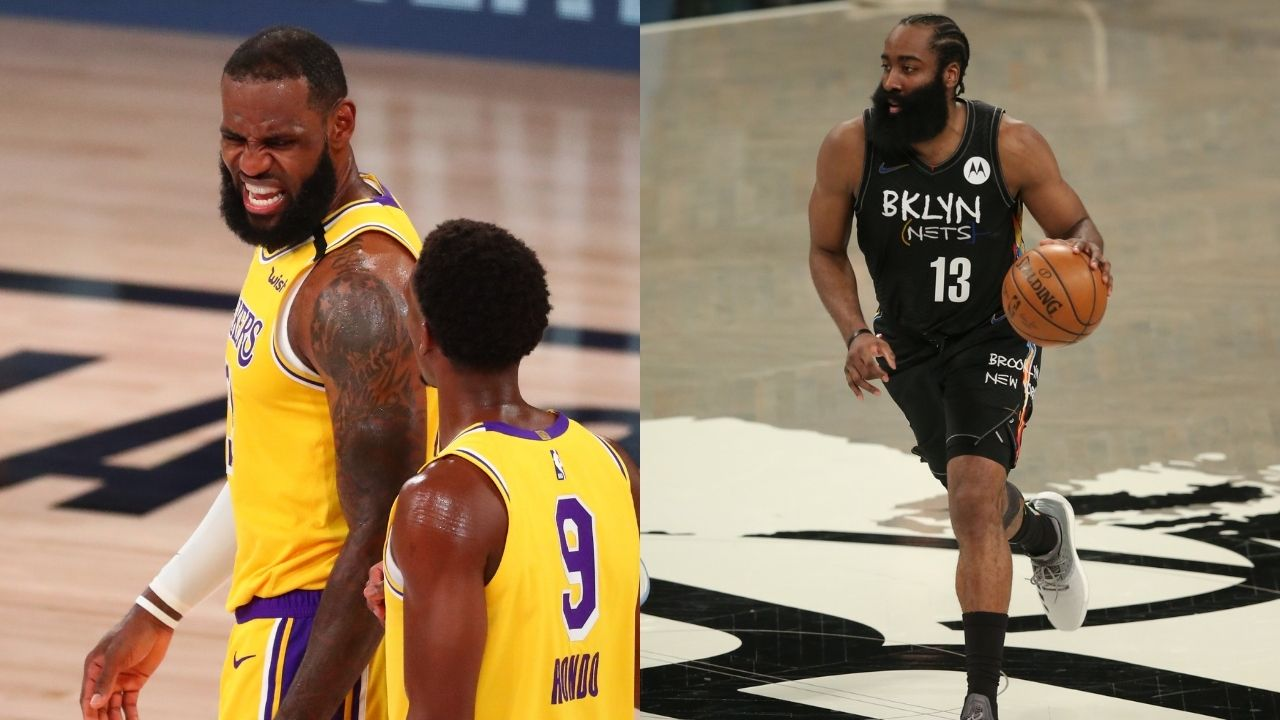 """""""How can you call him LeBrick when LeBron James shot better than James Harden?!"""": Shannon Sharpe seems to have had it with Skip Bayless during their latest Lakers-Nets debate"""