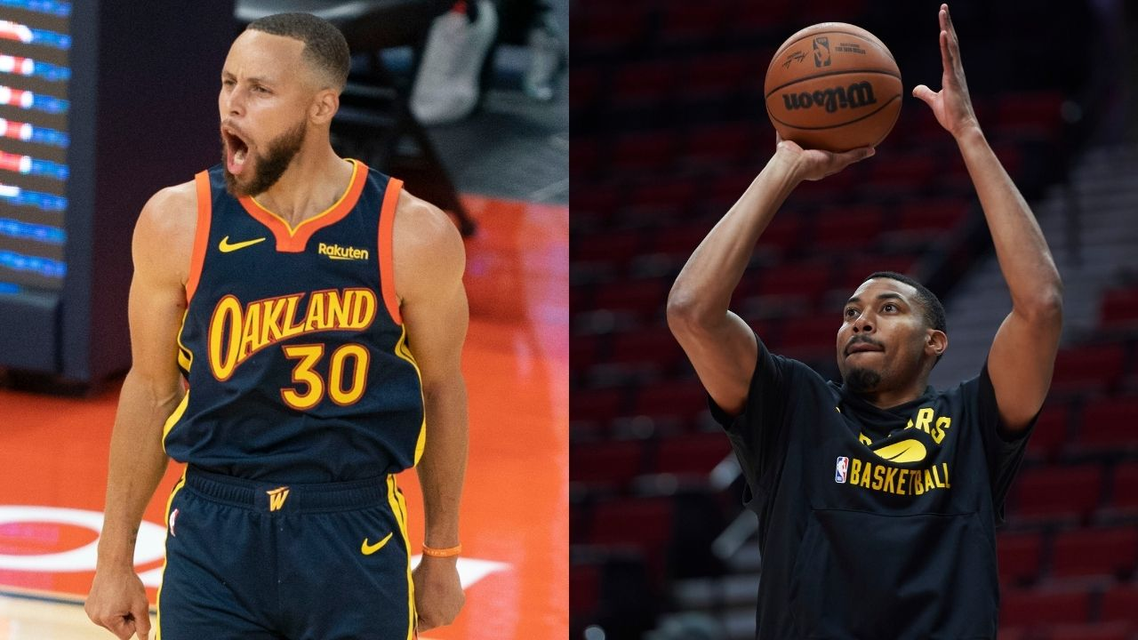 """""""You're going to leave Steph Curry open? Bad idea buddy"""": Otto Porter Jr breaks down why he passed up his bread-and-butter corner 3s to the wide open Warriors MVP"""