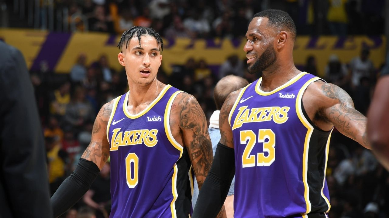 """""""What are the media doing, man?!"""": Kyle Kuzma and LeBron James chime in as Draymond Green criticizes all of media for their recent coverage of unvaccinated NBA players"""