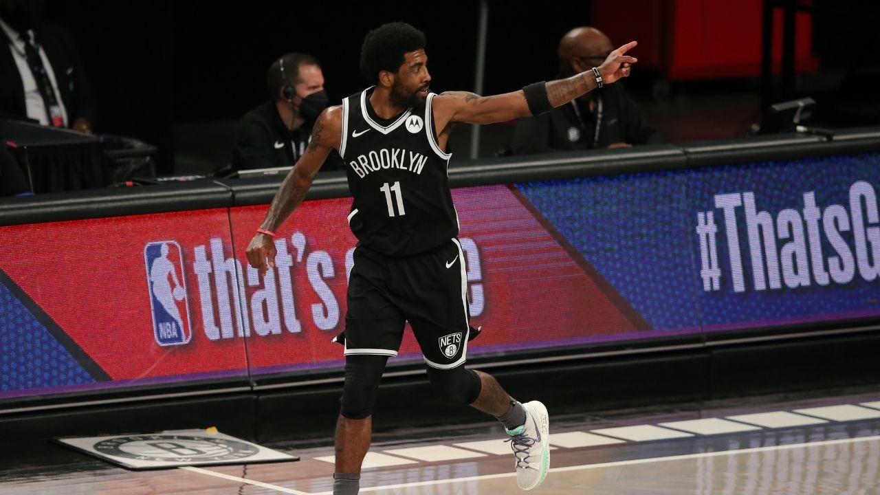 """""""If LeBron James was his teammate, Kyrie Irving wouldn't pull this bullsh*t!"""": NBA Twitter erupts as the Nets star reveals his unfiltered thoughts on his offseason fiasco"""
