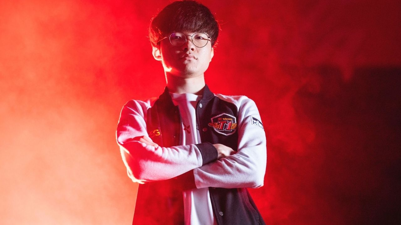 Faker returns with a bang