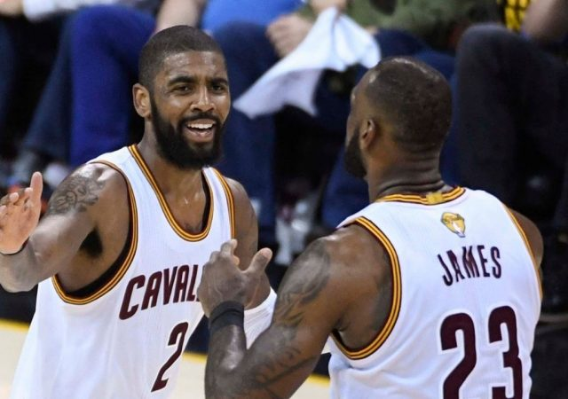 """""""Kyrie Irving, are you going to leave us like LeBron James?"""": When a Cavaliers fan foreshadowed the All-Star guard's departure in 2013"""