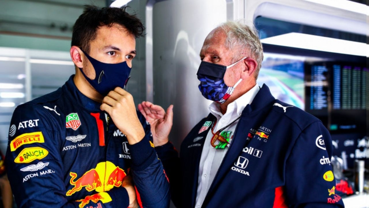 """""""I think there's a misconception about it""""– Alex Albon rubbishes media given 'villian' tag to Helmut Marko"""