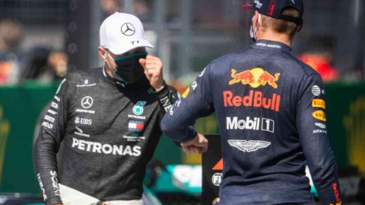 """""""I should be able to keep him behind, hopefully"""" - Valtteri Bottas hoping to keep fellow front-grid starter Max Verstappen behind during Turkish GP start"""