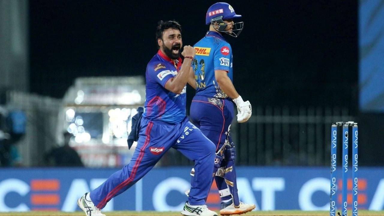MI vs DC Head to Head Records in IPL   Mumbai Indians vs Delhi Capitals stats   IPL 2021 Match 46
