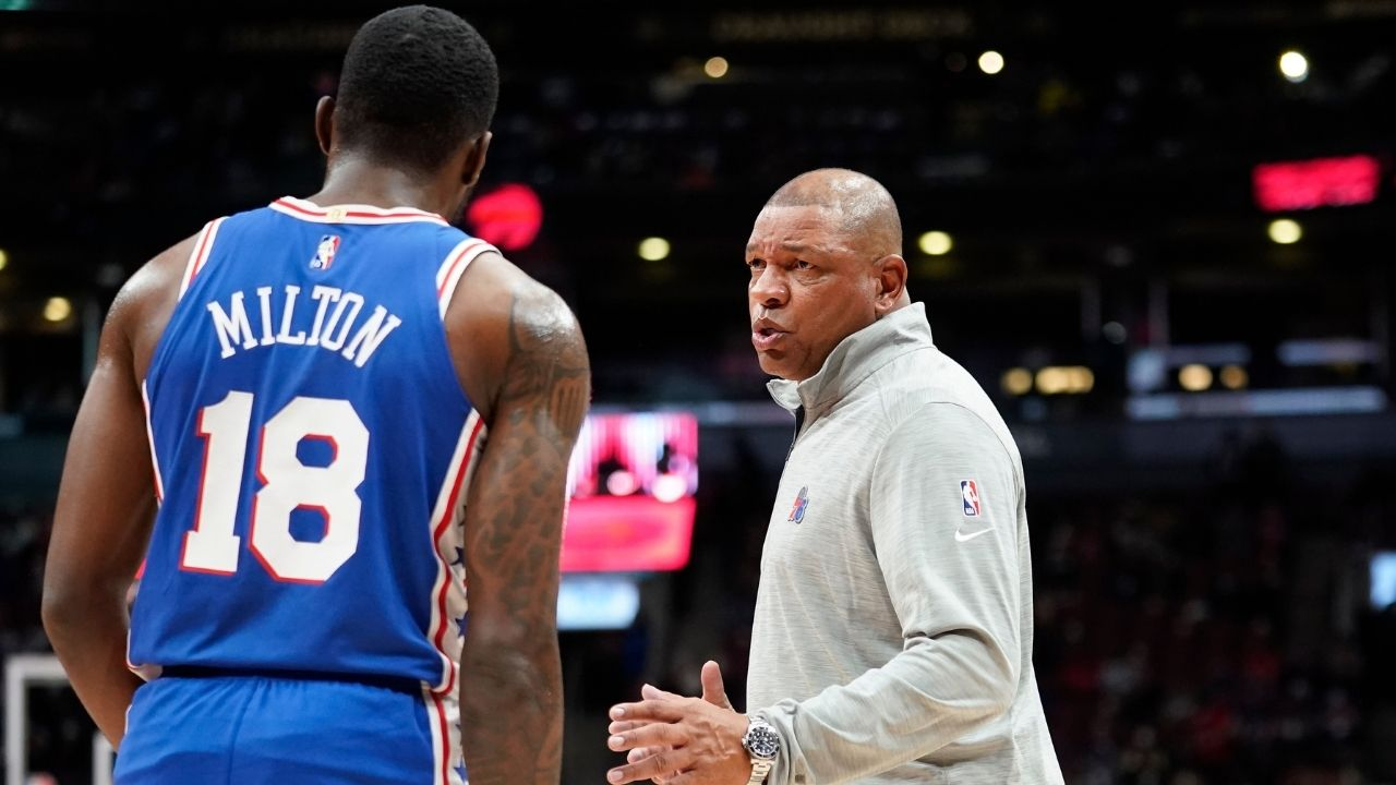 """""""I don't care about what we don't have, if we get a point guard, great!"""": Doc Rivers clarifies that Ben Simmons' absence isn't necessarily giving him sleepless nights"""