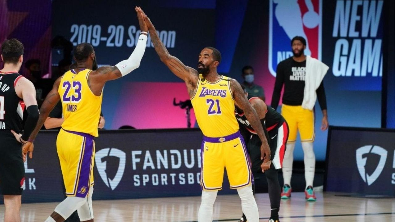 """""""HOW AMAZING IS THAT! I'M PROUD OF MY BROTHER JR SMITH!"""": Lakers' LeBron James puts out a tweet in support of his former teammate during his first golf tournament"""