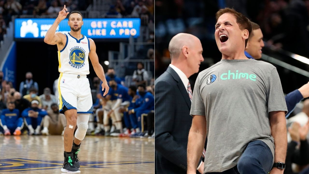 """""""Stephen Curry is just so amazing and never out of the game"""": Mavs owner Mark Cuban compliments the GSW MVP while naming him as the player he loves beating the most"""