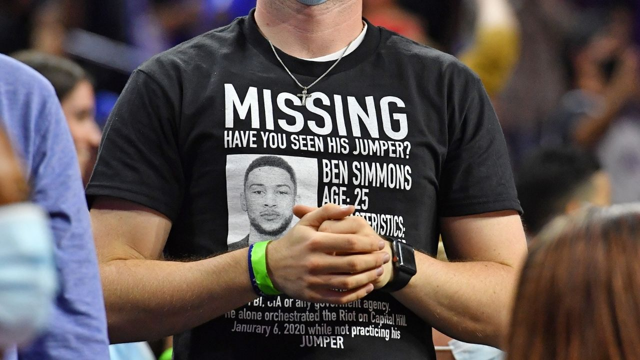 """""""Ben Simmons really out here following Kyrie Irving's way of life!"""": Sources reveal the face-palm worthy reason why there has been a hold up in the 76ers guard's return"""