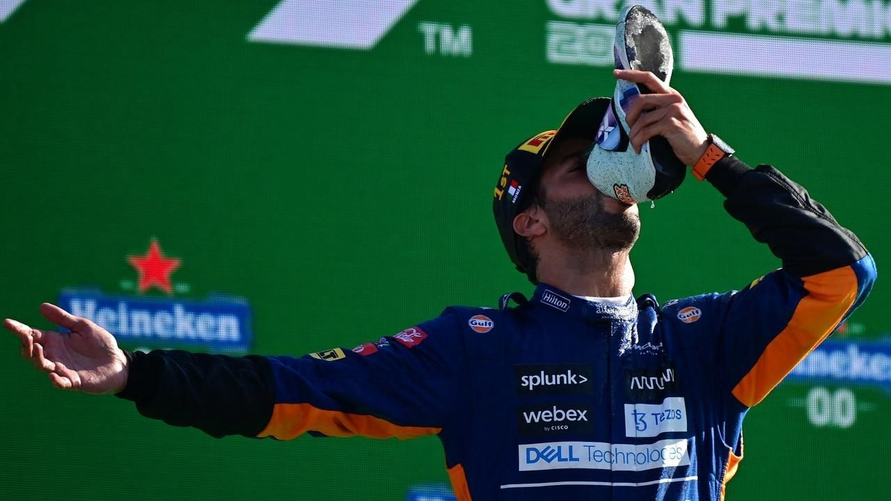 """""""There was quite a bit of emotion involved""""– Daniel Ricciardo explains how much the Italian GP win meant to him"""