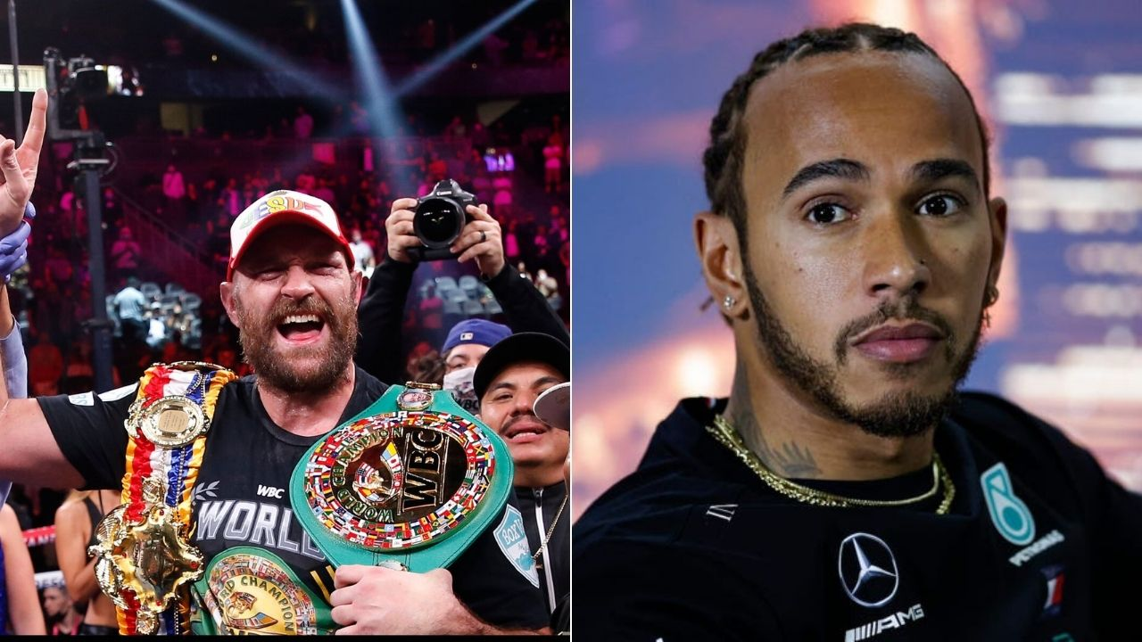 """""""No matter what he's said about me, I have huge respect""""– Lewis Hamilton congratulates his compatriot Tyson Fury despite latter alleging seven-time world champion avoiding taxes in UK"""