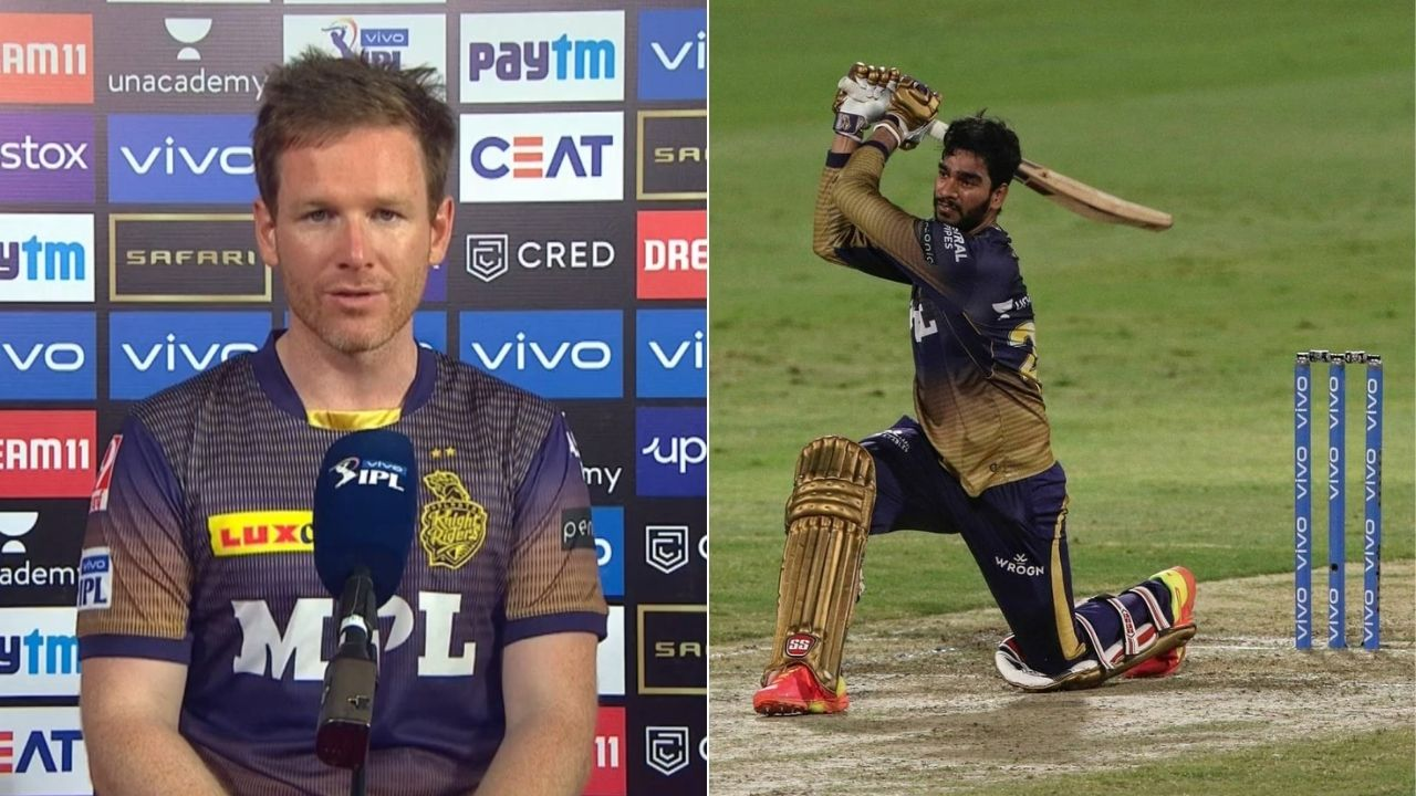 """""""Came from the coach"""": Eoin Morgan credits Brendon McCullum for revealing Venkatesh Iyer in IPL 2021 Phase 2"""