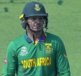 Why is Quinton de Kock not playing today's 2021 T20 World Cup match between South Africa and West Indies in Dubai?