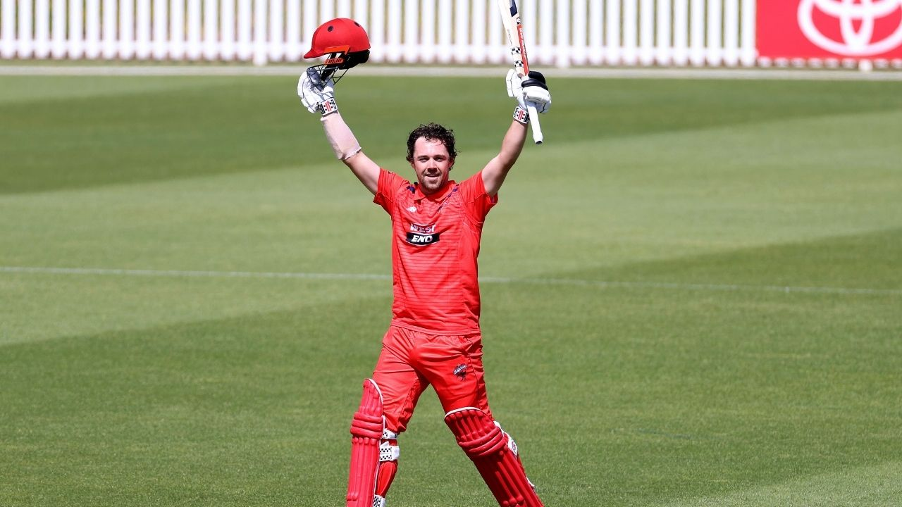 """""""Hope he goes on with it"""": Travis Head earns applause from Damien Fleming after becoming 3rd batter to score two List A double hundreds"""