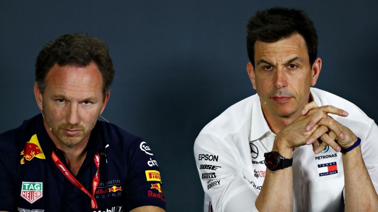 """""""There is no such thing as a human error""""– Toto Wolff and Christian Horner disagree on errors in F1 pitstops"""