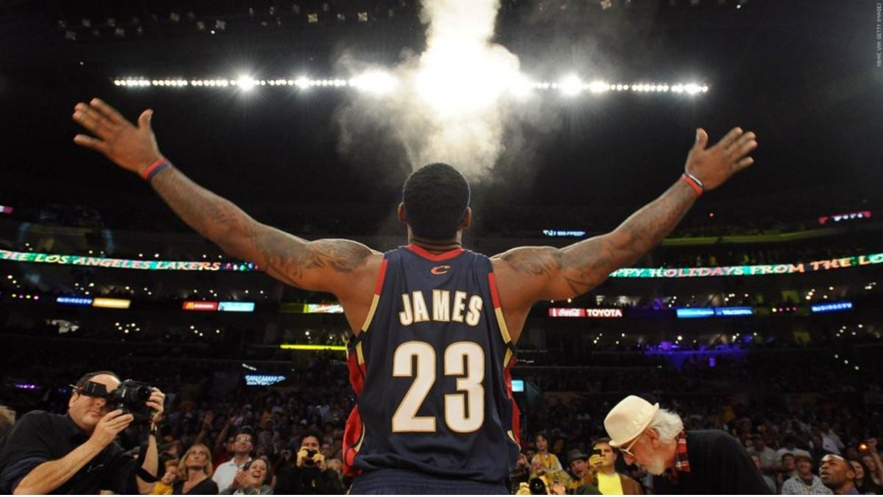 LeBron James chalk toss: Why and when did Lakers superstar begin his pre-game chalk toss ritual?