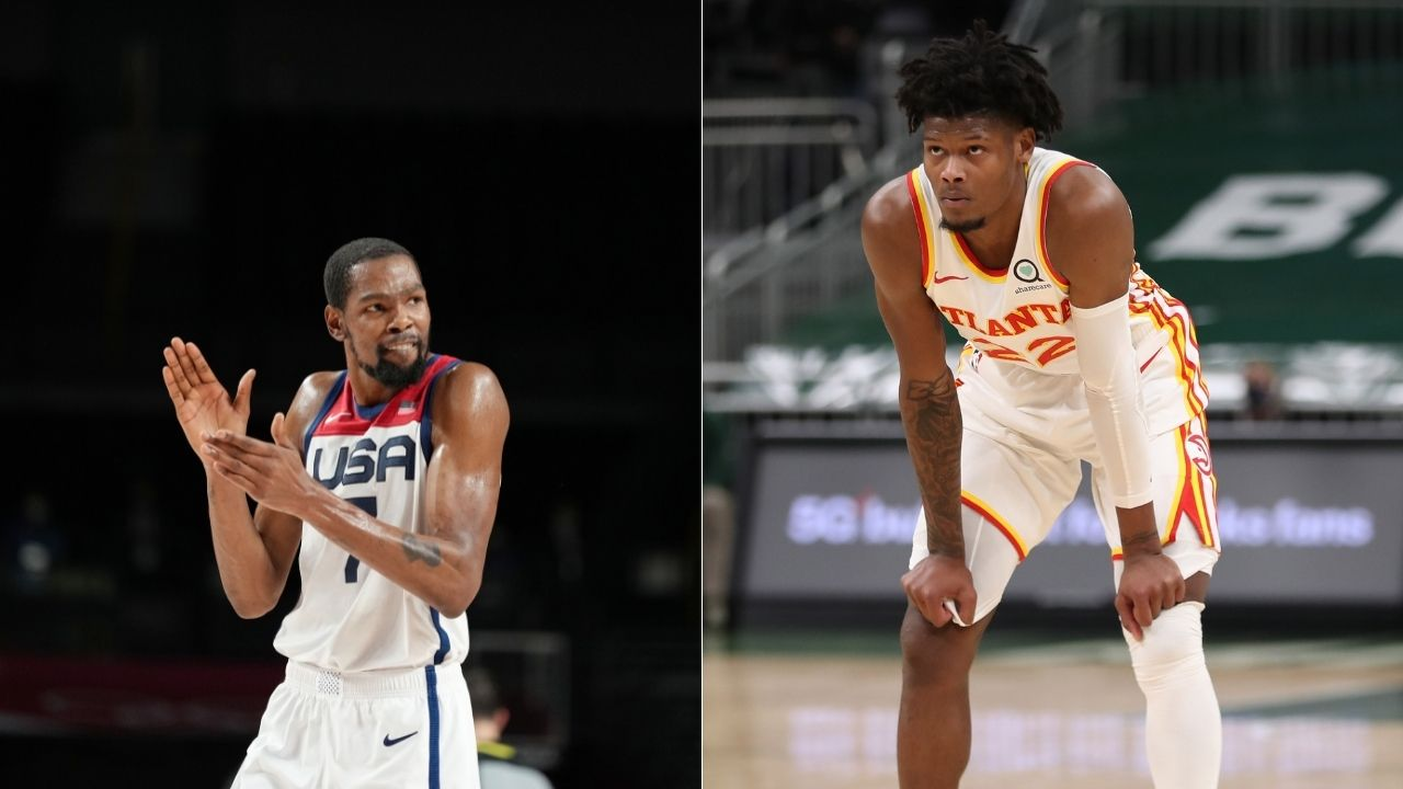 """""""Cam Reddish has an athleticism which is off the chart"""": When Kevin Durant lauded and broke down the Hawks guard's game before his Duke days"""
